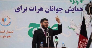 همایش جوانان هرات برای صلح