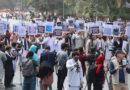 شهروندان کشور برای آزاد سازی میلیارها دالر پول منجمد شده افغانستان گردهمایی نمودند.