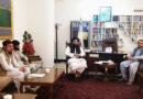 دیدار هیئت رهبری نجم با محترم ذبیح الله مجاهد معیین وزارت اطلاعات و فرهنگ ا.ا.ا
